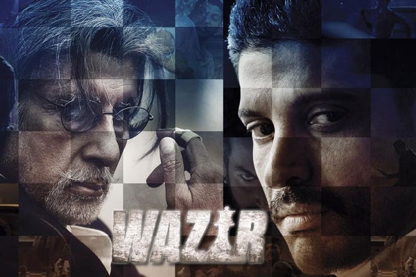 1st Weekend Wazir Movie 4th 5th Day Box Office Collection