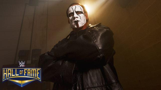 #sting WWE Inducted Sting into Hall of Fame Class 2016 ‪#‎WWEHOF‬