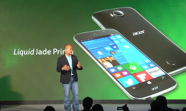 Acer Liquid Jade Primo Smartphone Features Specifications Launched