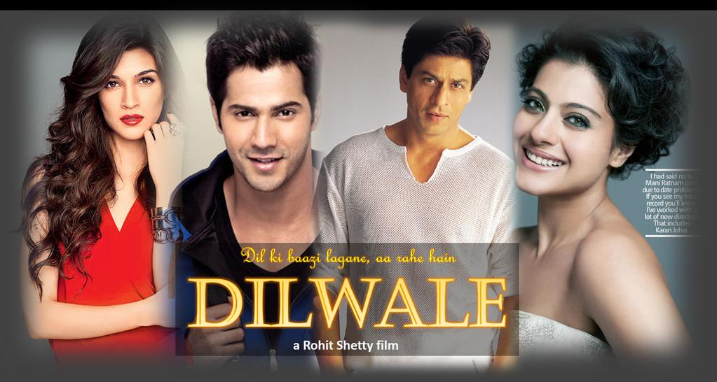 Till 9 Jan 2016 Dilwale Movie 23rd Day Box Office Collection