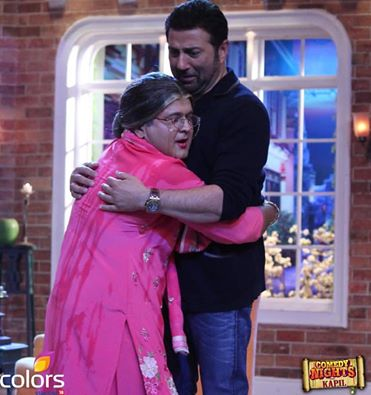CNWK Comedy Nights With Kapil 3rd Jan 2016 Guest Sunny Deol To Promote 'Ghayal Once Again'