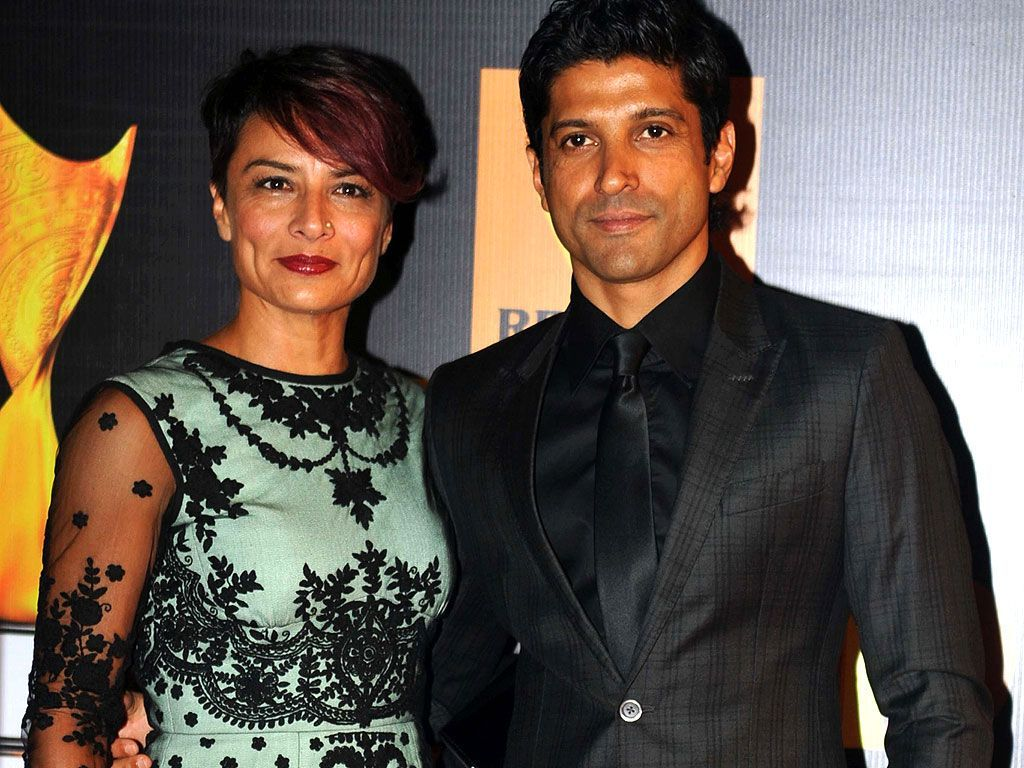 Farhan Akhtar and Adhuna