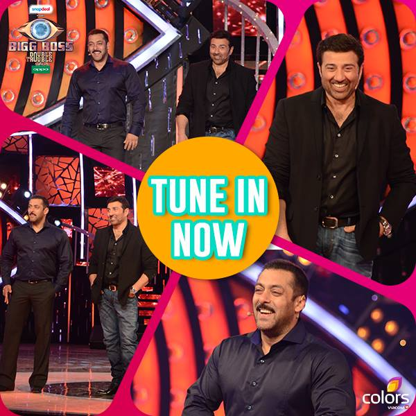 Guest Sunny Deol In BB9 House Bigg Boss 9 2nd January 2015 Episode Written Updates