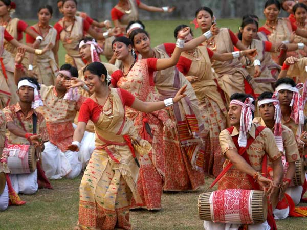 Happy Bhogali Magh Bihu Wishing Images