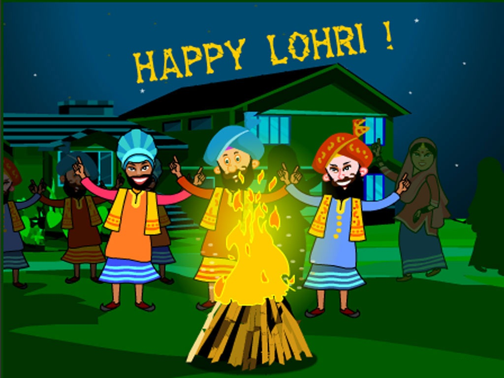 Happy Lohri Celebration Wishes