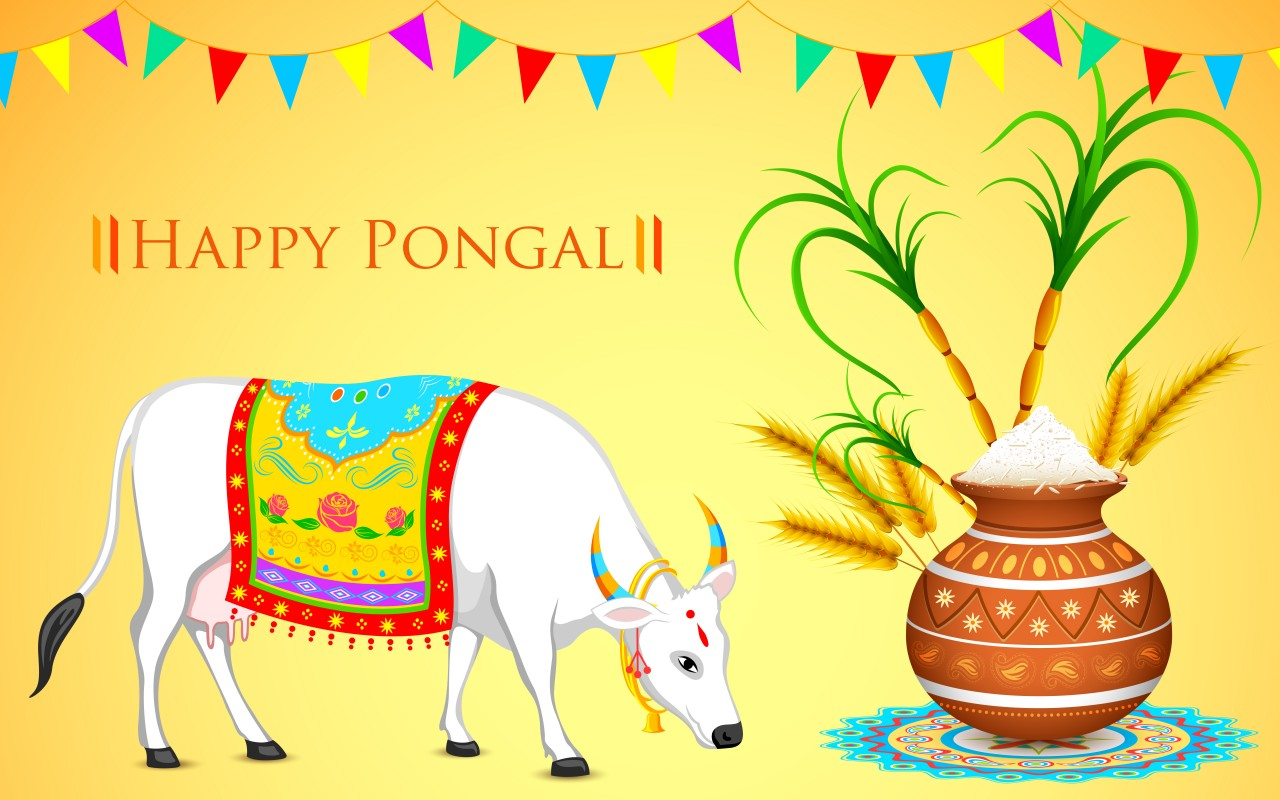 Happy Thai Pongal wishing images
