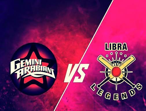 Libra Legends vs Gemini Arabians