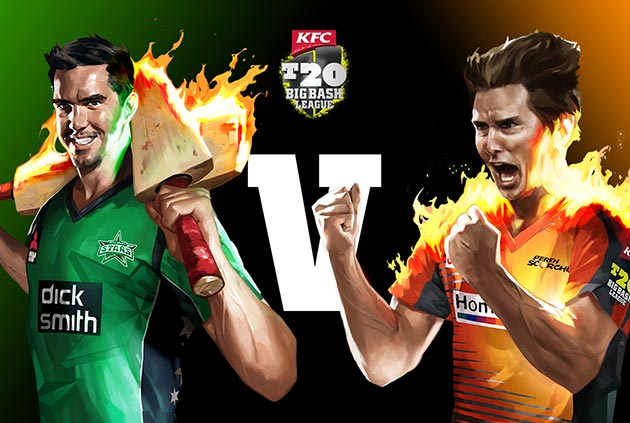 Melbourne Stars vs Perth