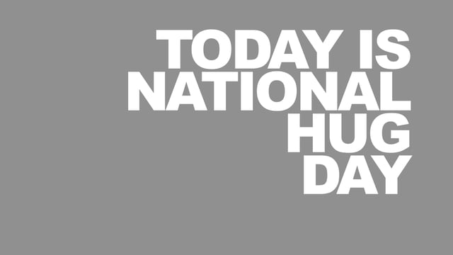 National Hug Day whatsapp dp