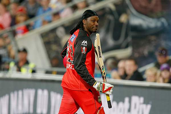 Watch Chris Gayle 50 Runs In 12 Balls Batting Video In Big Bash 18th January 2016 Match