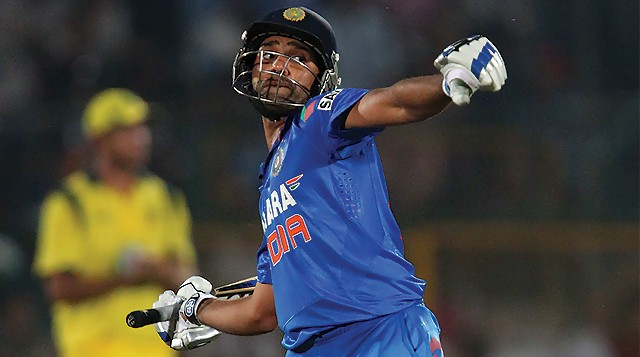 Watch Rohit Sharma 171 Runs Batting Video Vs Australia 1st ODI 12th Jan 2016 Match