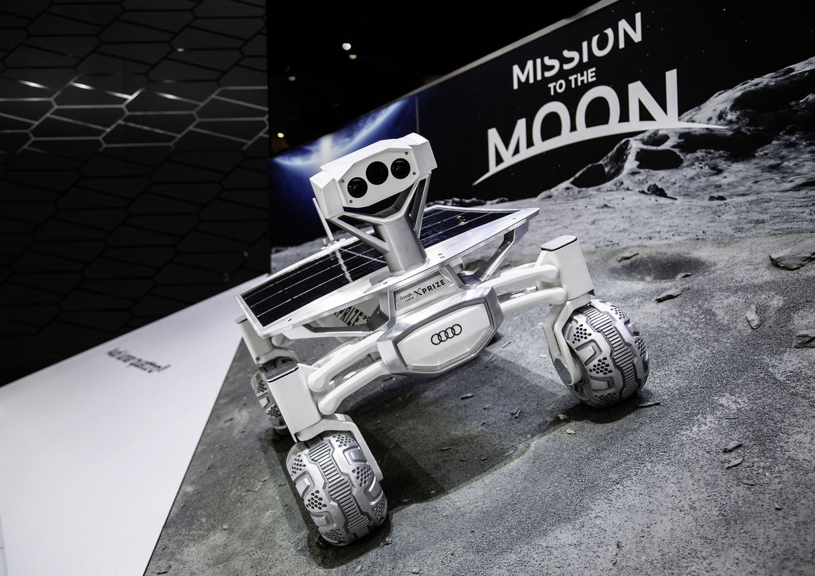 Audi is set to Launch Lunar Quattro Moon Rover in End of 2017