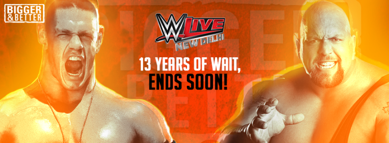 WWE Live Event India 2016 Schedule Fixtures Venue Date Live Stream Details