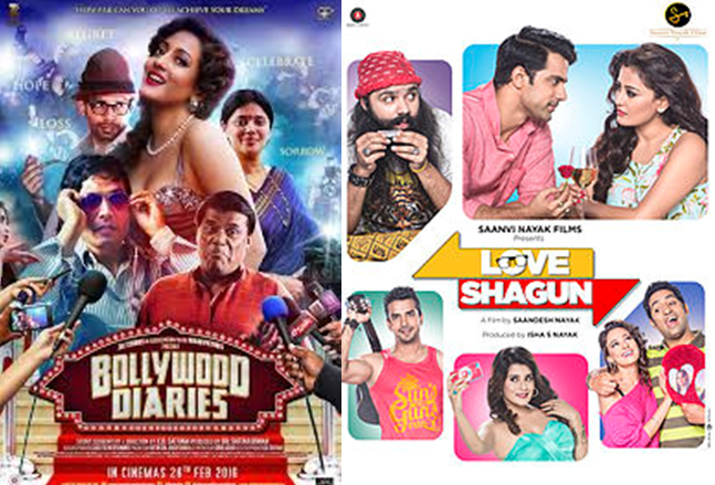 Bollywood Diaries vs. Love Shagun vs. Rhythm
