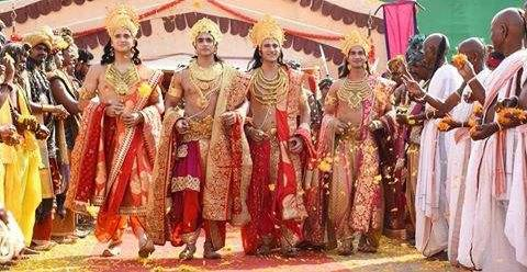 Ram-Sita arrive in Ayodhya with all couples! Siya Ke Ram 29th February 2016 Written Updates