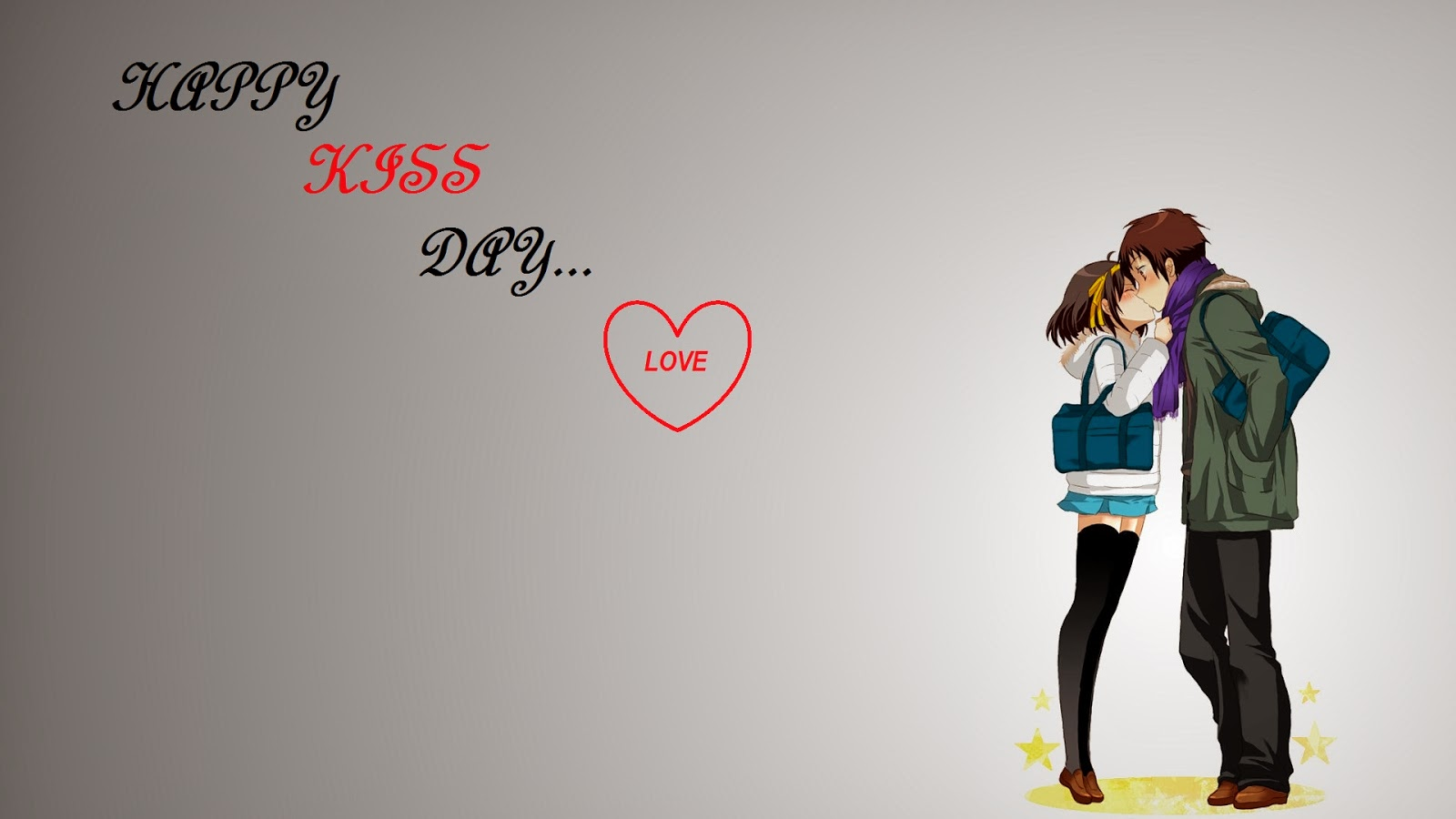 Happy Kiss Day 2014.HD Wallpapers and Pics.kiss of couple