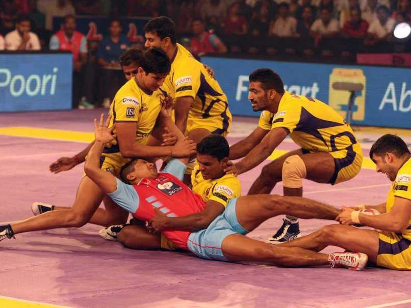 Pro Kabaddi League 2016 Telugu Titans vs Jaipur Pink Panthers Match 30