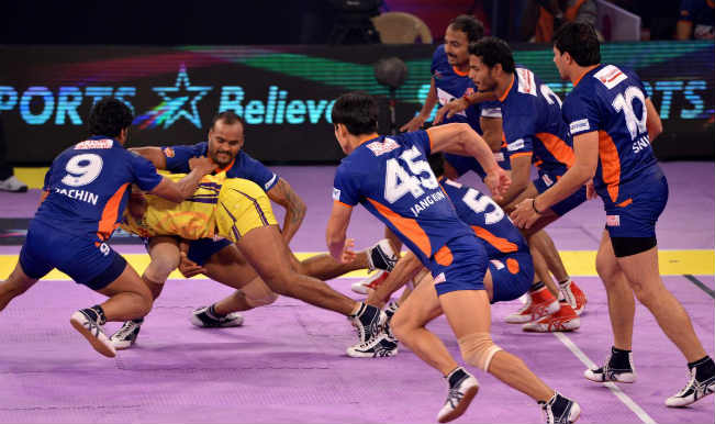 Pro Kabaddi League 2016 Bengal Warriors vs Telugu Titans Match 34