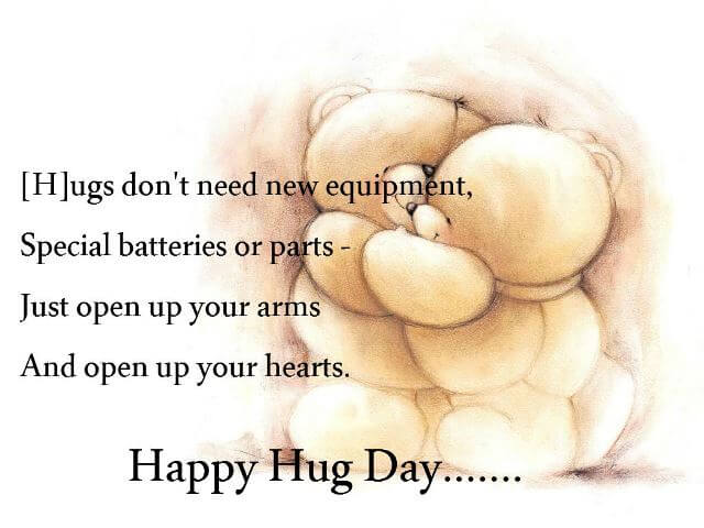 hug day whatsaap dp