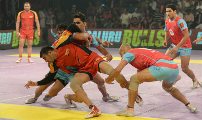 Watch Pro Kabaddi League 2016 Jaipur Pink Panthers vs Bengaluru Bulls