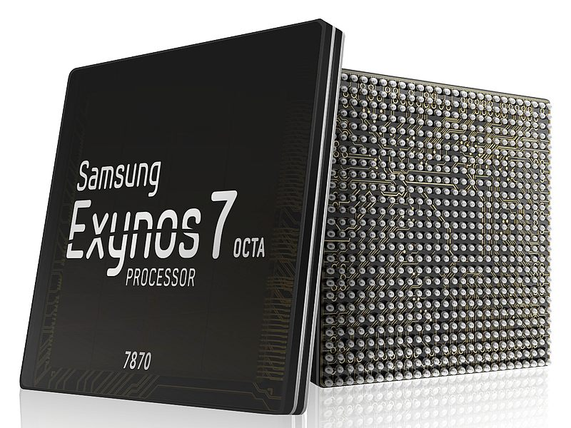 Latest Exynos 7 Octa 7870 SoC by Samsung for smartphones