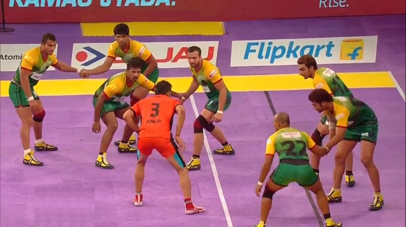 Pro Kabaddi League 2016 Patna Pirates vs U Mumba Match 35