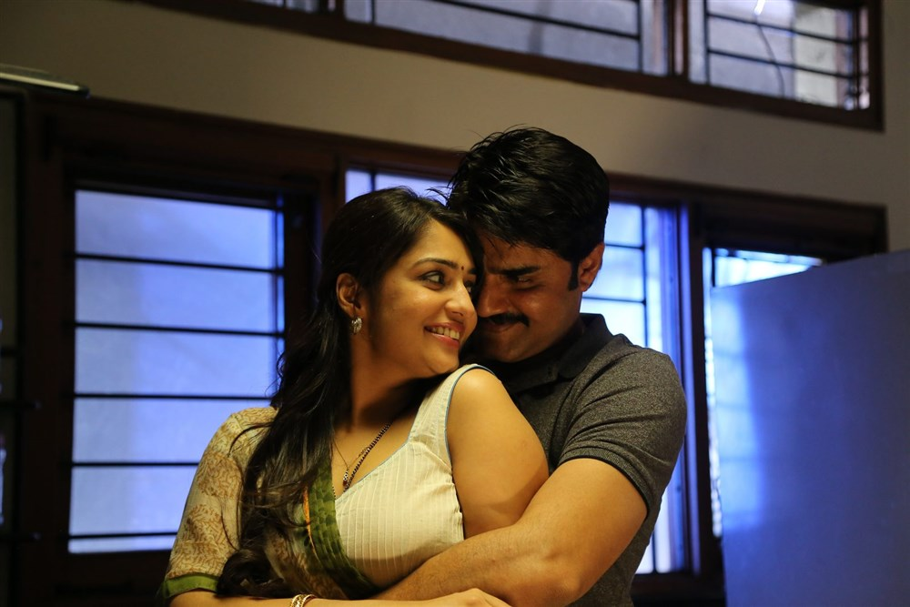 Nikitha, Srikanth in Terror Telugu Movie Stills