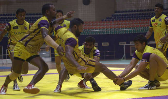 Pro Kabaddi League 2016 Jaipur Pink Panthers vs Telugu Titans Match 25