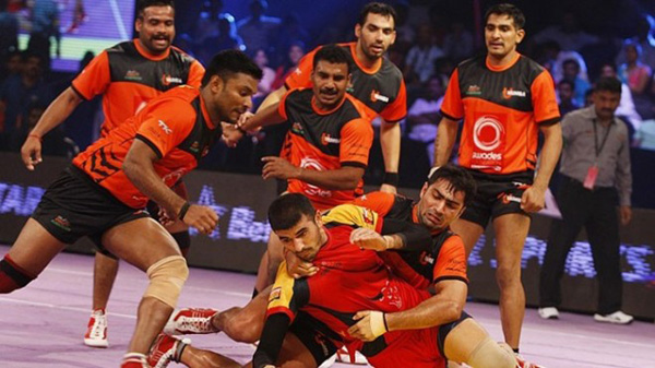 Pro Kabaddi League 2016 Bengal Warriors vs U Mumba Match 27