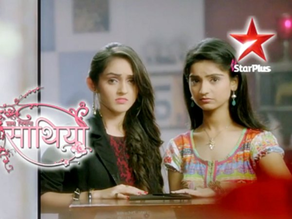 Meera points sword at Gaura to save Vidya! Saath Nibhana Saathiya 29th March 2016 Episode Written Updates