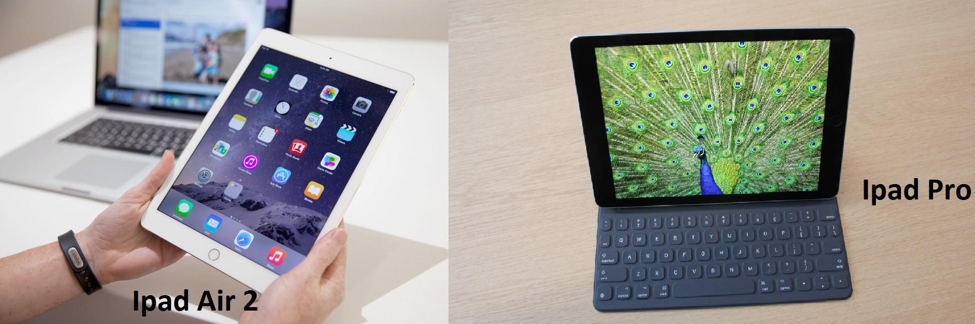 Apple Ipad Pro vs Apple Air 2 Full Specs Features