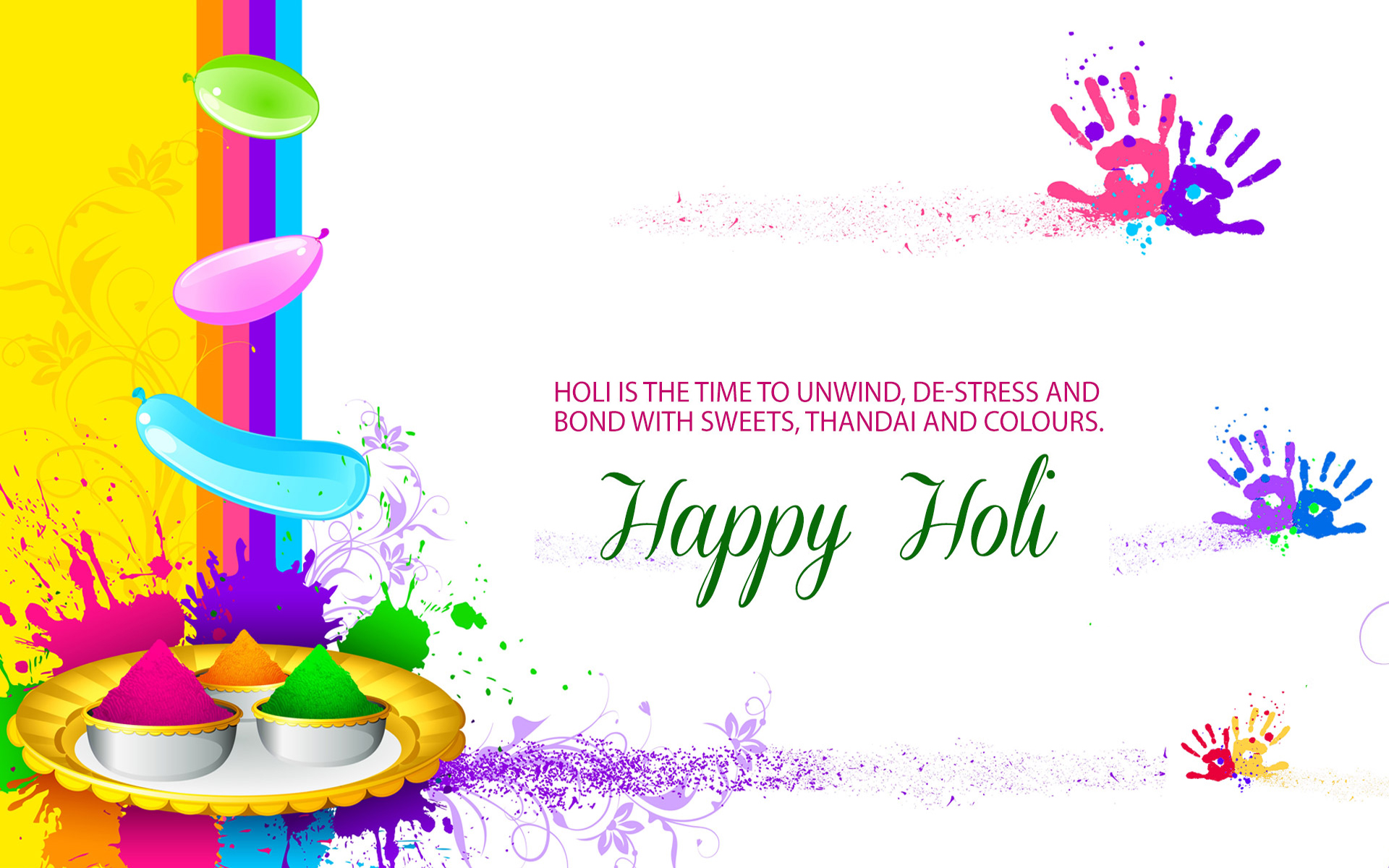 Happy choti holi 2018 wishes quotes sms messages whatsapp status 841 kristyandbryce Images