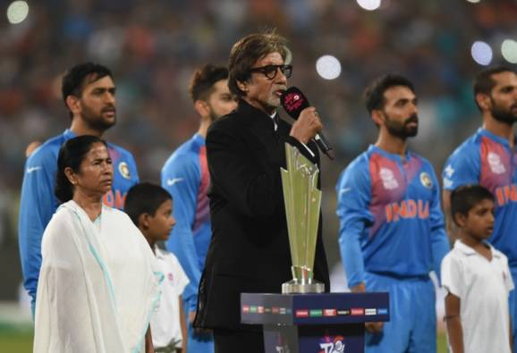 Police complaint against Big B for singing 'incorrect' National anthem
