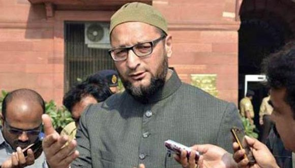 Sedition crime complaint filed against Owaisi in Delhi court