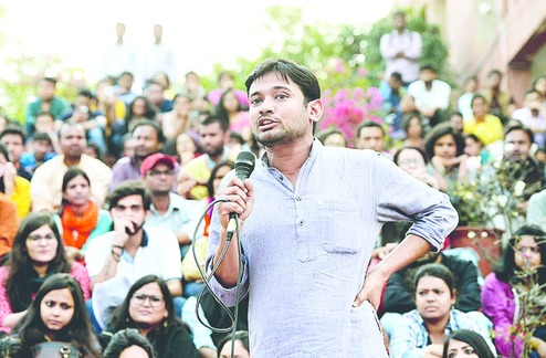 JNU Row: Kanhaiya meets Rahul Gandhi, thanks him for supporting JNU students