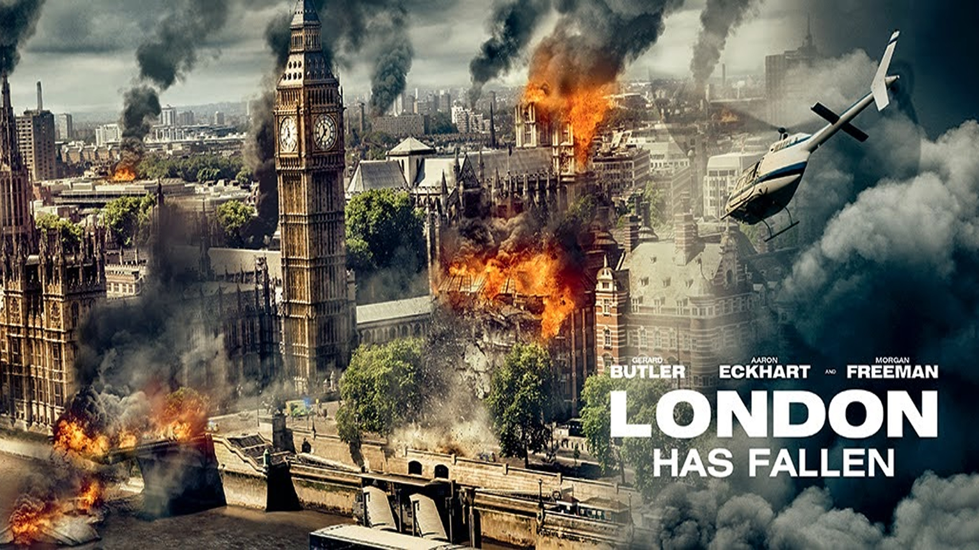 Bill Z chats with stars of 'London Has Fallen'