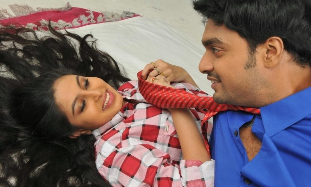 Abhinaya, Abhay Krishna in Adida Melam Movie Stills