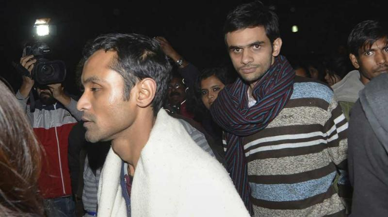 JNU Panel recommends restrictions on Umar Khalid, Anirban and fines 21 other students