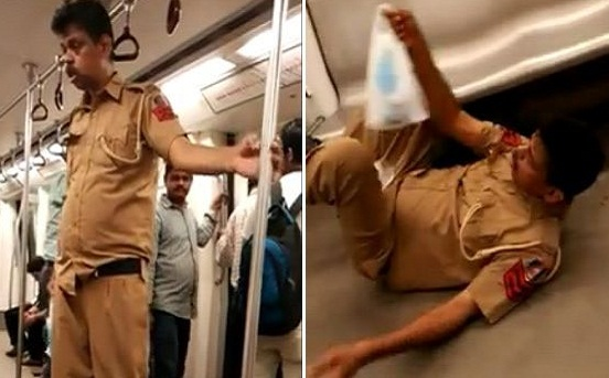 Viral Truth of Delhi Metro: 'Drunken' Police constable Salim PK was actually ill not drunk