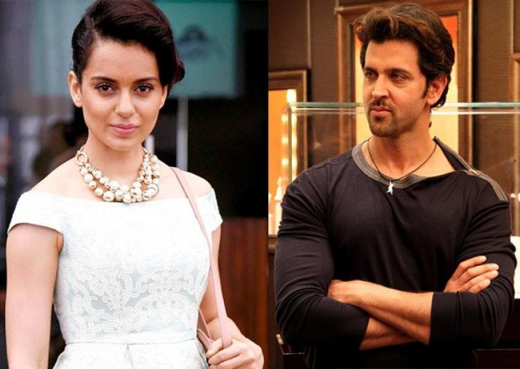 Bollywood Queen Kangana Ranaut takes dig at Hrithik Roshan and his ongoing Legal Issues