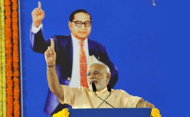 PM Narendra Modi compares BR Ambedkar with Martin Luther King and Nelson Mandela