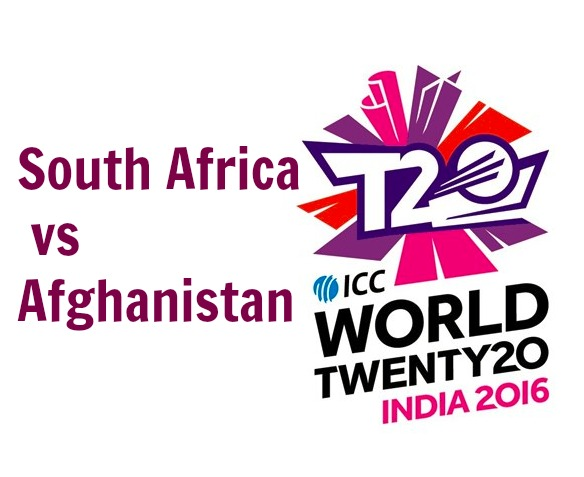 T20 World Cup 2016 Afghanistan vs South Africa 22nd Match Live Score Streaming Result Prediction