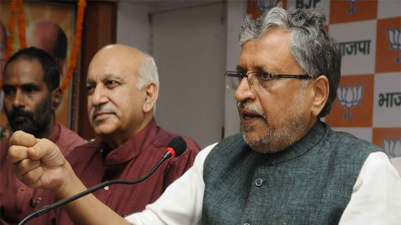 JD (U) slams BJP's Sushil Modi over 'returning' luxury gifts