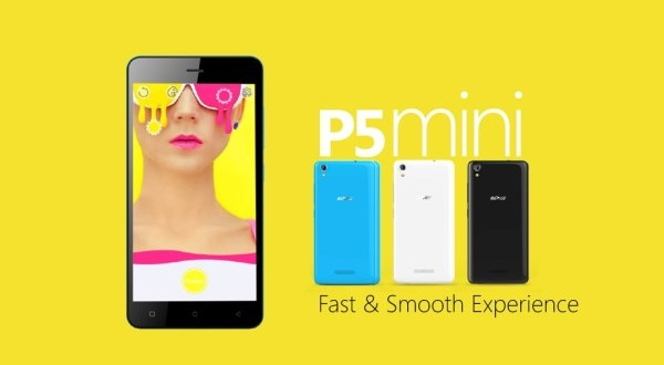 Latest Gionee P5 mini Full Specs Features Camera Price Launch