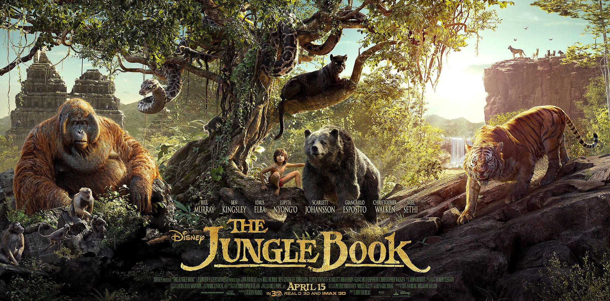 The Jungle Book Movie Review & Rating | Box Office Collection ...
