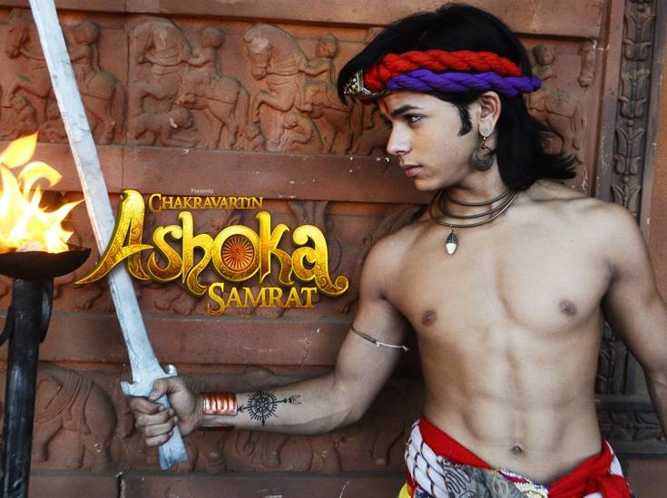 Ashoka is angry and fight with soldiers! Chakravartin Ashoka Samrat 25th April 2016 Written Episode Update