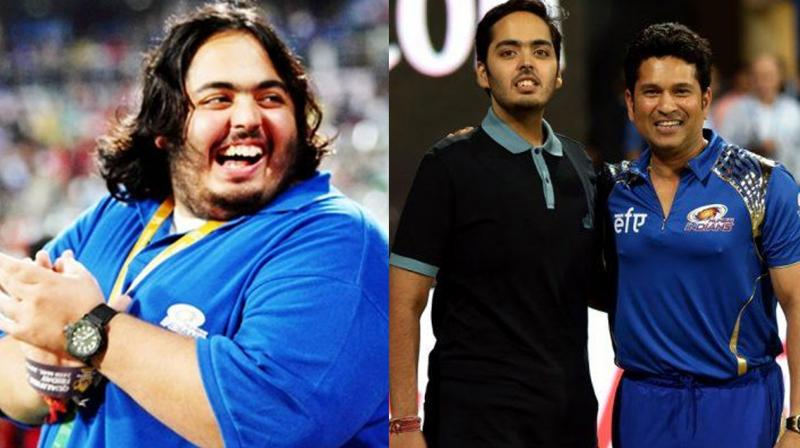 Anant Ambani Sachin Tendulkar Pics weights lose