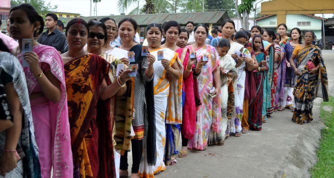Assam Assembly election 2016 polling records