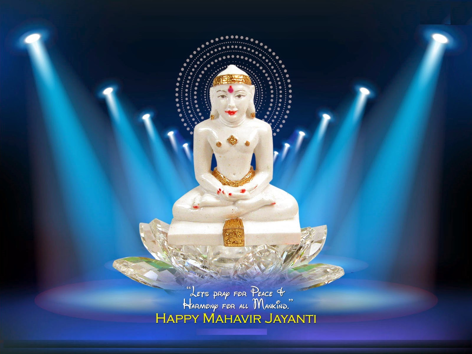 Happy Mahavir Jayanti sms fb quotes whatsapp status 2016