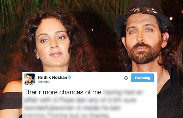 Hrithik Kangana Exclusive controversy
